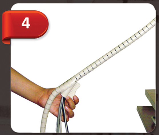نحوه استفاده از کاور سیم و کابل سیم زیپ